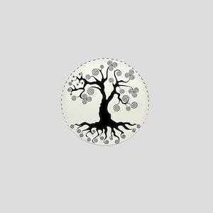 CP tree of life blk 2 Mini Button