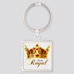 Untitled-1 Square Keychain