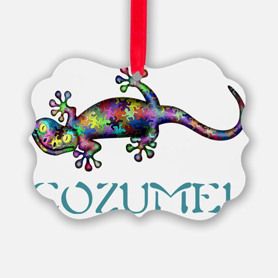 Cozumel Gekco Ornament