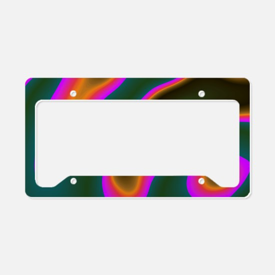 CartoonColors1 License Plate Holder