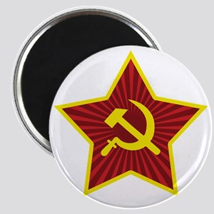 Hammer and Sickle with Star Magnet