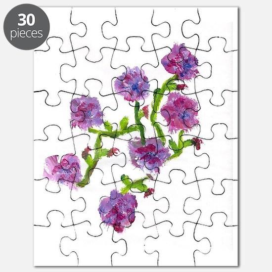 purple flowers Puzzle