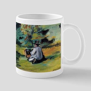 A painter at work - Paul Cezanne - c1874 11 oz Cer