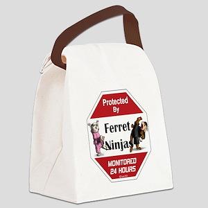 Ninja Protection Canvas Lunch Bag