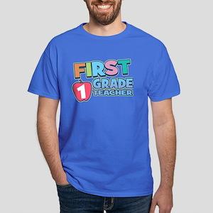 First Grade Teacher Dark T-Shirt