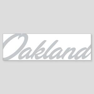 oak04 Sticker (Bumper)