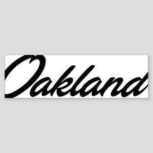 oak01 Sticker (Bumper)