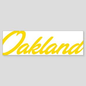 oak03 Sticker (Bumper)
