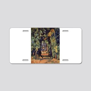 Allee du Bois Bourillon Chantilly - Paul Cezanne -