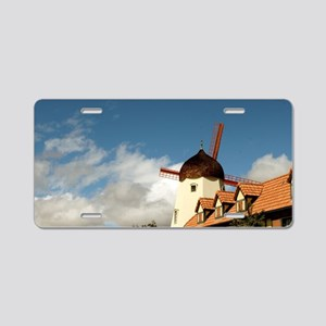 Windmill Solvang Aluminum License Plate