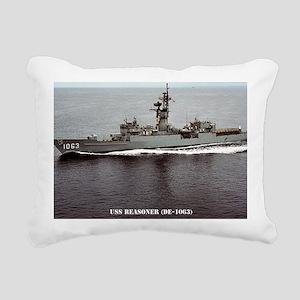 reasoner de framed panel Rectangular Canvas Pillow