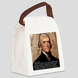 Jefferson 2400X3000.001f Canvas Lunch Bag