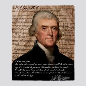 Jefferson 2400X3000.001f Throw Blanket