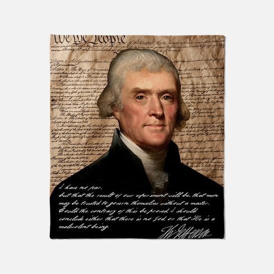 Jefferson 2400X3000.001f Throw Blanket