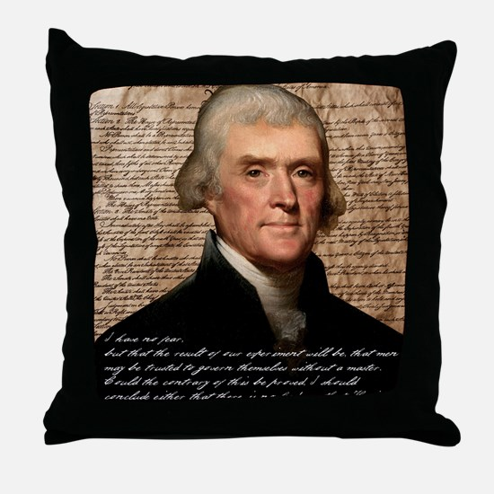 Jefferson 2400X3000.001f Throw Pillow
