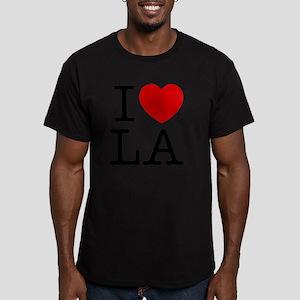 lasangeles Men's Fitted T-Shirt (dark)