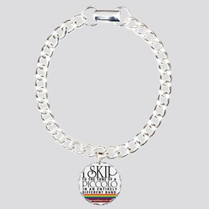 Skipping to the Piccolo Charm Bracelet, One Charm