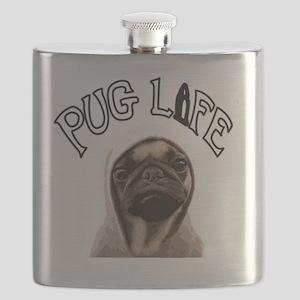 Pug Life Flask
