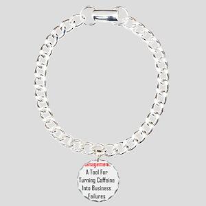 Management Charm Bracelet, One Charm