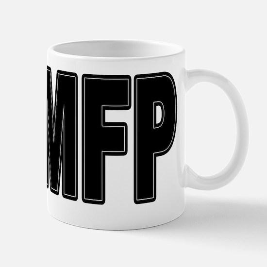 MFP Black Mug