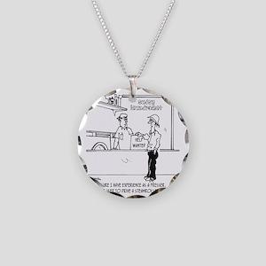 3589_steamroller_cartoon_HMM Necklace Circle Charm