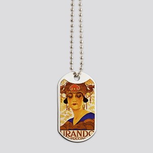 Puccini Diva Dog Tags