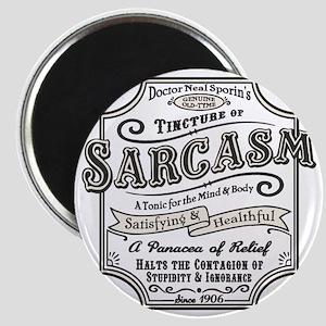 sarcasm-oldtyme-LTT Magnet