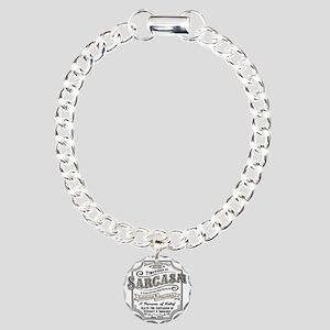 sarcasm-oldtyme-LTT Charm Bracelet, One Charm