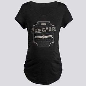 sarcasm-oldtyme-LTT Maternity Dark T-Shirt
