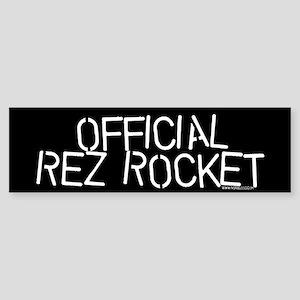 OFFICIAL REZ ROCKET Bmpr Sticker
