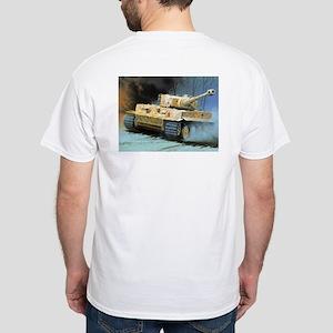 Tiger Movin' White T-Shirt