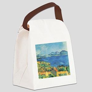 Bay of Marseille - Paul Cezanne - c1885 Canvas Lun