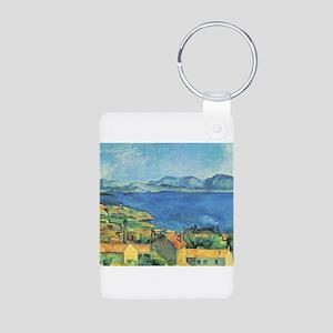 Bay of Marseille - Paul Cezanne - c1885 Aluminum P