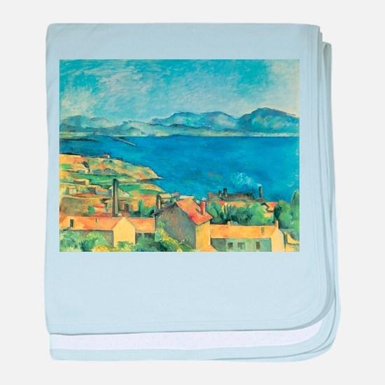 Bay of Marseille - Paul Cezanne - c1885 baby blank
