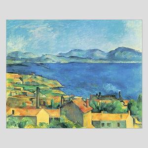 Bay of Marseille - Paul Cezanne - c1885 Small Post