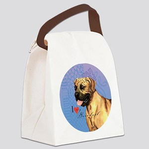 boerboel-button Canvas Lunch Bag