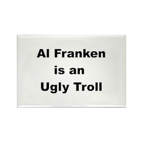 Al Franken, Ugly troll Rectangle Magnet