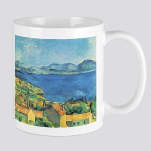 Bay of Marseille - Paul Cezanne - c1885 11 oz Cera
