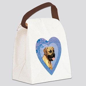 Boerboel-heart Canvas Lunch Bag