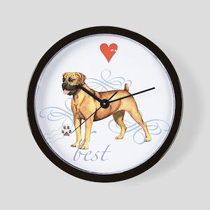boerboel T1-K Wall Clock