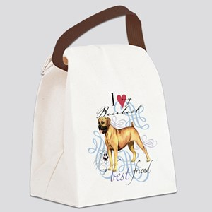 boerboelT1 Canvas Lunch Bag