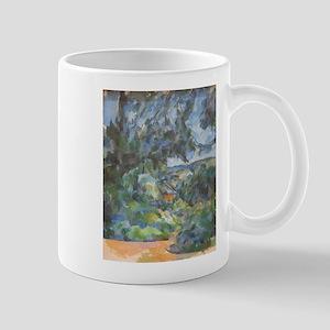 Blue landscape - Paul Cezanne - c1904 11 oz Cerami