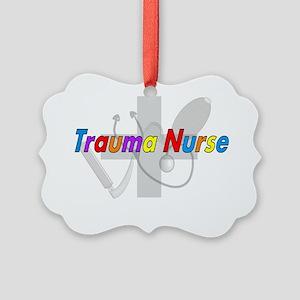 Trauma Nurse 2012 Picture Ornament