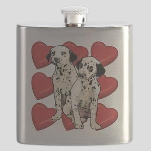 dalmatian puppy love Flask