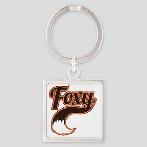 foxy Square Keychain