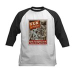 Old People Are Fun At Parties Kids Baseball Jersey
