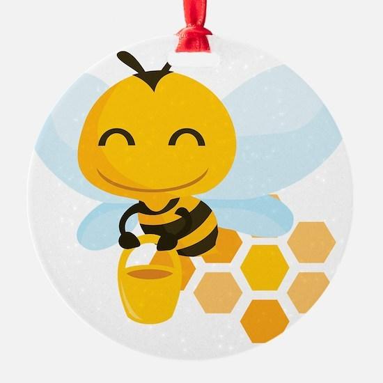 happy_honeybee Ornament