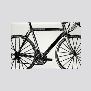 Road Bike Rectangle Magnet