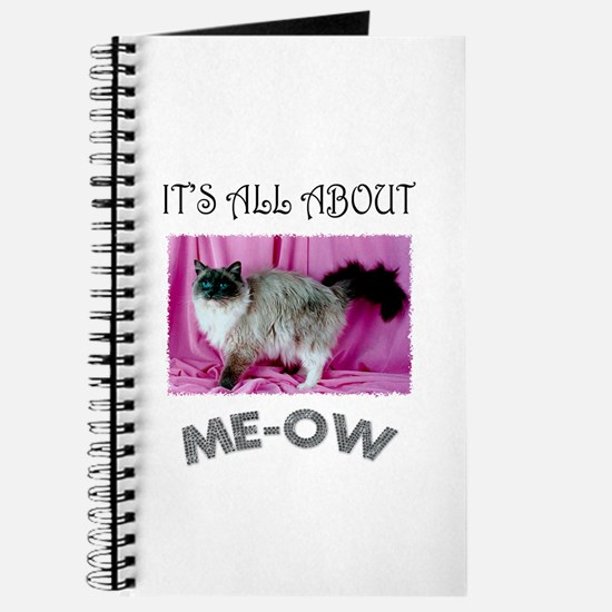 All About ME-OW Ragdoll Cat Journal