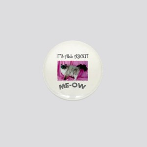 All About ME-OW Ragdoll Cat Mini Button